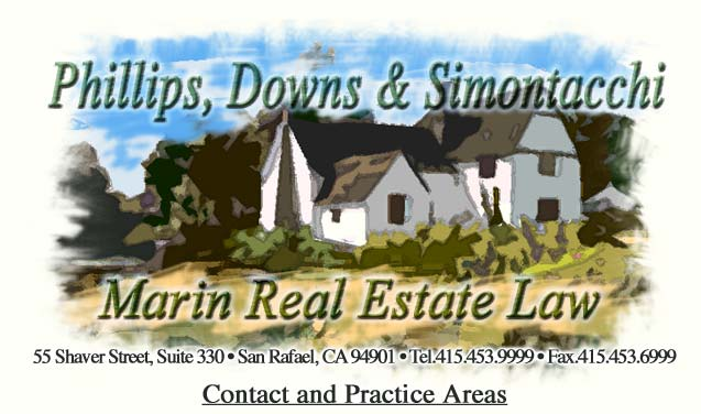 Phillips & Associates, Marin Real Estate Law